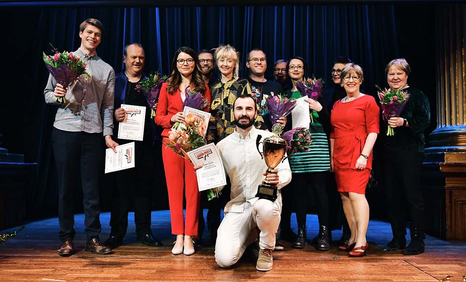 Researchers' Grand Prix finalists 2018